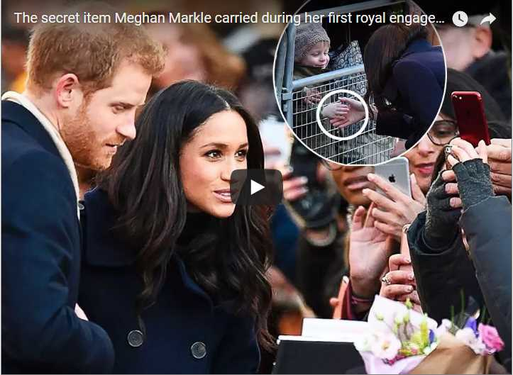 Meghan Markle Broke Royal Protocol When She Carried This Tote
