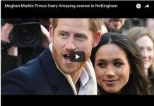 Meghan Markle Prince Harry Amazing scenes in Nottingham