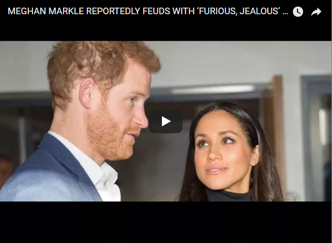 Meghan Markle Reportedly Feuds With 'furious Jealous' Camilla P. Bowles to Be Prince Harry's Wife