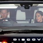 Meghan Markle and Prince Harry attending Buckingham Palace Christmas Dinner Photo C ALEX HUCKLE SPLASH NEWS