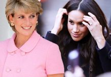 Meghan Markle has been likened to Princess Diana Photo (C) GETTY, GC IMAGES