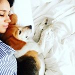 Meghan Markle has previously described her Beagle Guy as her absolute world and often posted photos of the pair together on Instagram