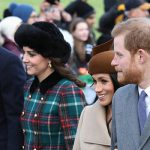 Meghan Markle joined the ceremony in a break from tradition Photo C GETTY