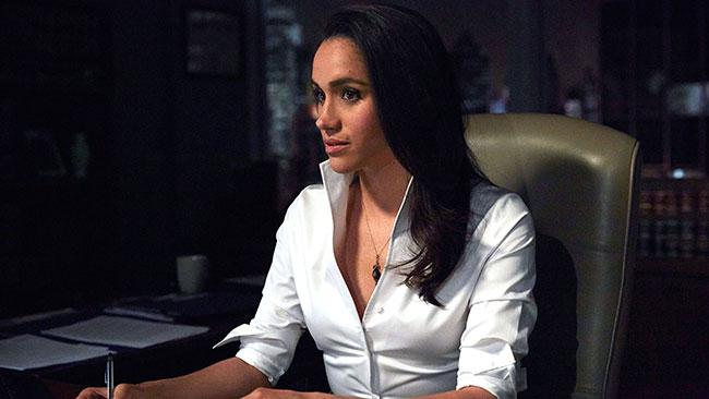 Meghan Markle played lawyer Rachel Zane in Suits Photo (C) GETTY