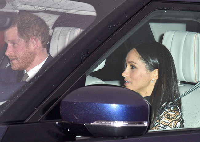 04 The Duke and Duchess of Cambridge arrive for the Queens annual Christmas lunch Photo C GETTY IMAGES 1