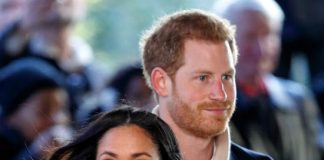 Meghan and Prince Harry met on a blind date Photo C GETTY