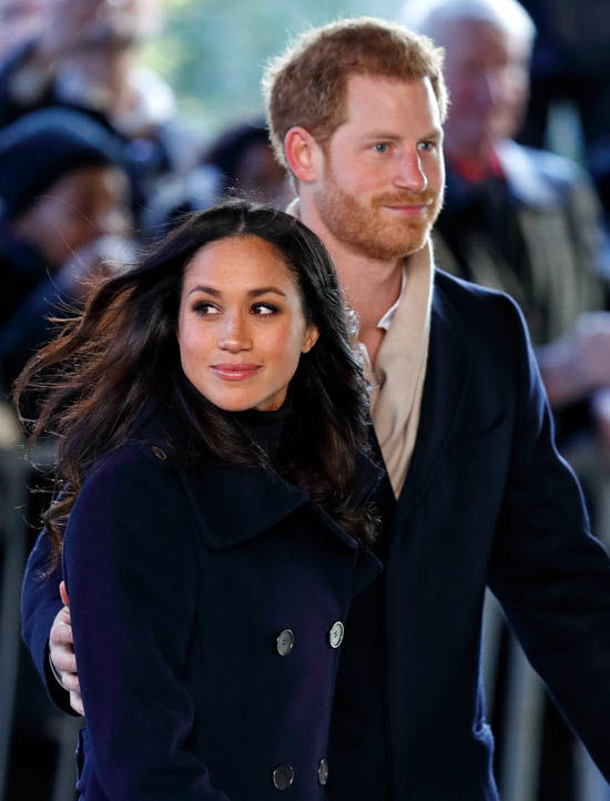 Meghan and Prince Harry met on a blind date Photo (C) GETTY