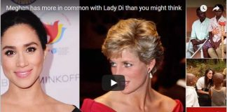 Meghan has more in common with Lady Di than you might think