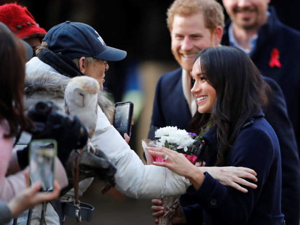 NEWLY ENGAGED Prince Harry and Meghan Markle could top the list next year Photo (C) GETTY