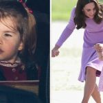 Photos show that little Charlotte has changed so much of late Photo C GETTY