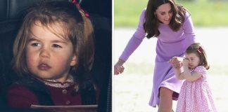 Photos show that little Charlotte has changed so much of late Photo (C) GETTY
