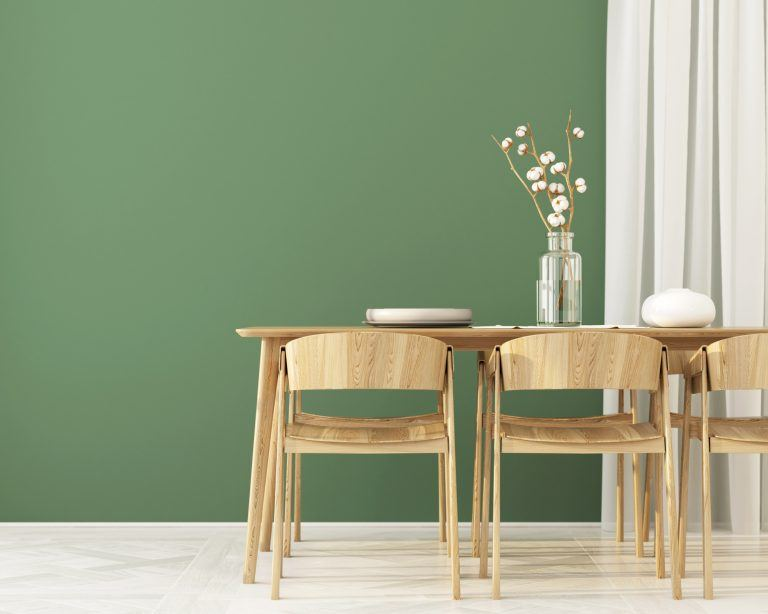 Pick a rich shade of green to liven up your space. Photo (C) JZuk, iStock, Getty Images