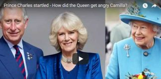 Prince Charles startled - How did the Queen get angry Camilla