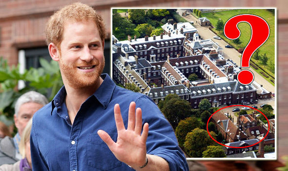 Prince Harry Home with Meghan Markle is near Prince William Photo (C) GETTY