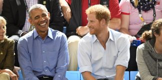 Prince Harry and Barack Obama at the Invictus Games Photo C GETTY