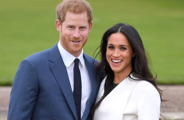 Prince Harry and Meghan Markle announced their engagement last month Photo (C) GETTY