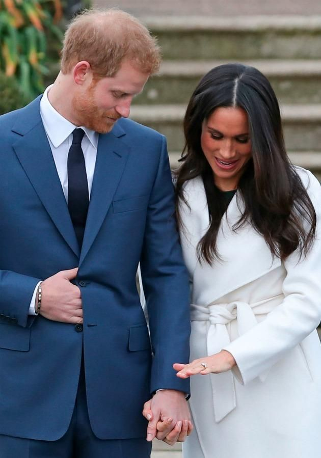 Prince Harry and Meghan Markle announced their engagement last month and are set to wed in May 2018. Source Getty