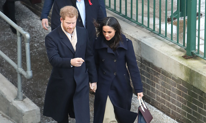 Prince Harry and Meghan Markle break royal tradition during first official outing Photo (C) GETTY