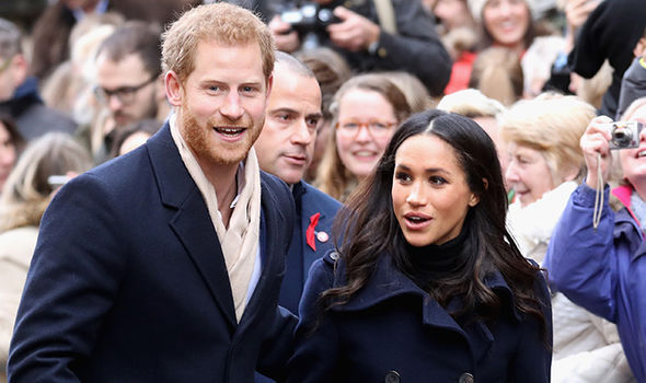Prince Harry and Meghan Markle go engaged at the end of November Photo (C) GETTY