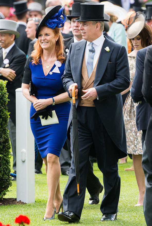 Prince Harry and Meghan Markle wedding Sarah Ferguson was married to Prince Andrew Photo (C) GETTY