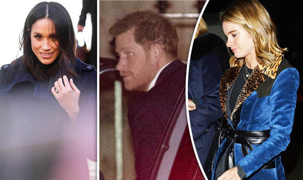 Prince Harry and ex-Cressida attend carol concert without Meghan Photo (C) CONSTANT MEDIA, PA