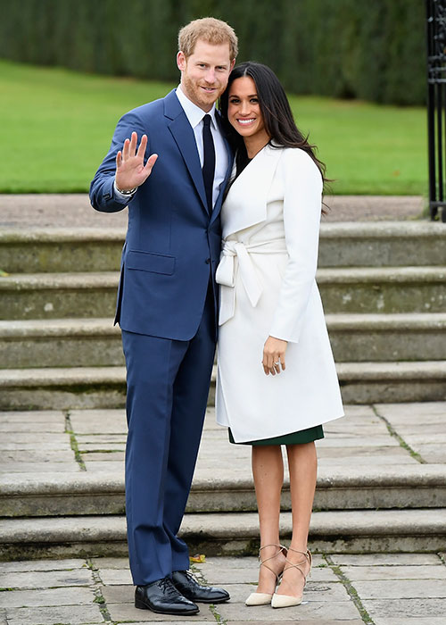 Prince Harry and fiancée Meghan Markle Photo (C) GETTY