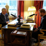 Prince Harry spoke to his father HRH The Prince of Wales about the busy year he has had his key focus for 2018 Photo C TWITTER