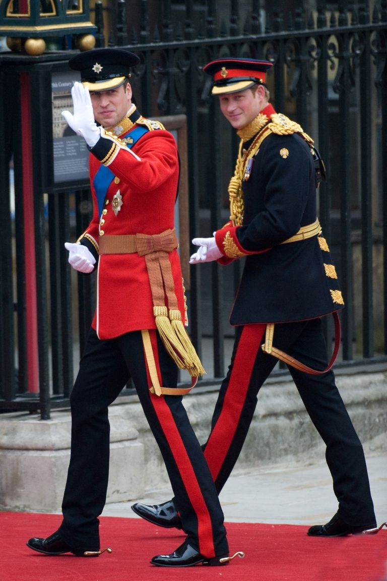 Prince Harry was best man to Prince William, who wed Kate Middleton in 2011. Photo (C) GETTY