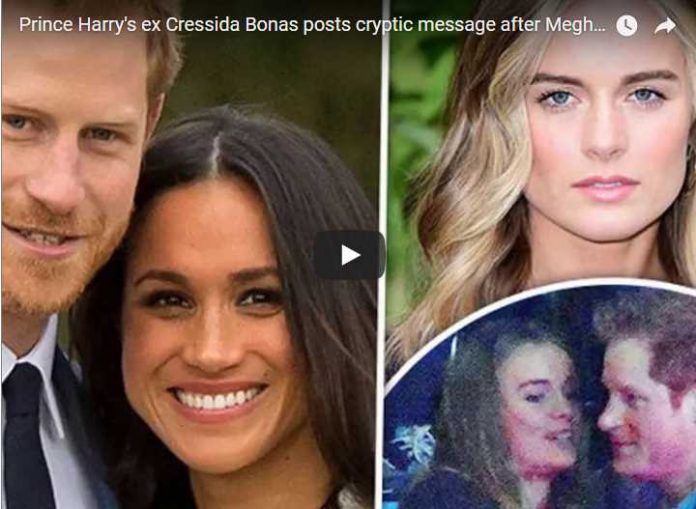Prince Harry's ex Cressida Bonas posts cryptic message after Meghan Markle engagement