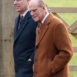 Prince Philip joined his son Prince Andrew Photo C GETTY IMAGES