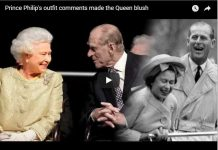 Prince Philip's outfit comments made the Queen blush