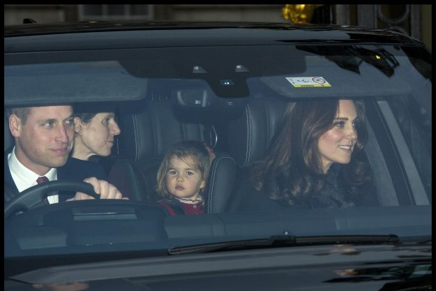 Prince William and Kate Middleton were joined by their nanny[i-images]