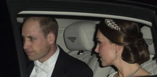 Prince William and Kate arrive at Buckingham Palace Photo C GETTY