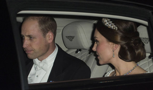 Prince William and Kate arrive at Buckingham Palace Photo (C) GETTY