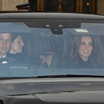 Prince William and Kate brought their two children along Photo C PA