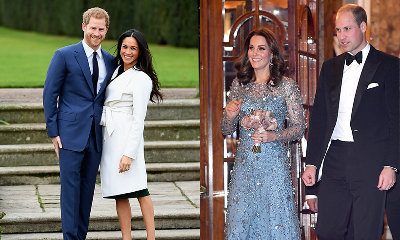 Prince William and Kate to host Prince Harry and Meghan Markle for Christmas Photo C GETTY