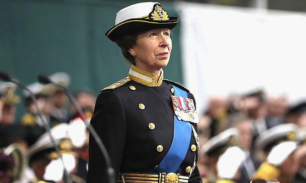 Princess Anne is busiest royal of 2017 Photo (C) GETTY