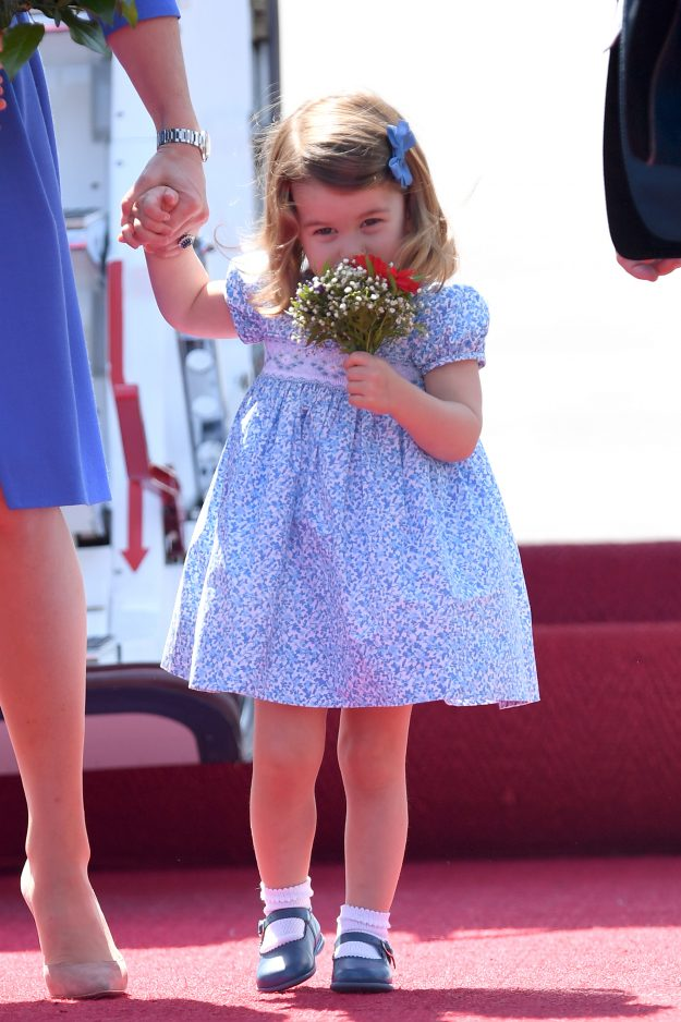 Princess Charlotte is set to start nursery Getty