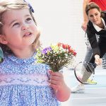 Princess Charlotte has caused a stir at the Hurlingham Club in Fulham Photo C GETTY