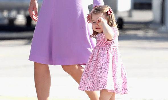 Princess Charlotte will be taught by an all-female team Photo (C) GETTY