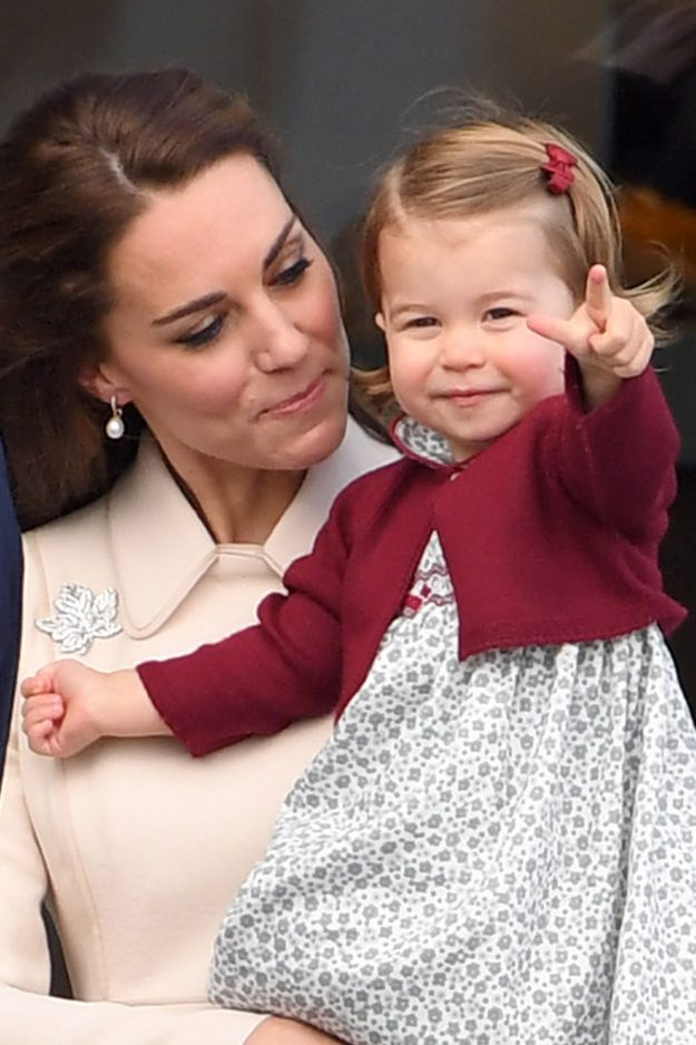 Princess Charlotte is worth a massive billion fortune for the British economy [Getty]