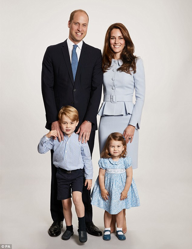 The Cambridges' Christmas card features a touching family portrait taken earlier this year