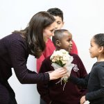 The Duchess of Cambridge joins children and families to celebrate the work of the Rugby Portobello Trust at its community centre in North Kensington 0