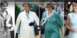 The Evolution of Royal Pregnancy Style Through the Years - Queen, Anne, Diana, Kate
