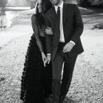 The couple additionally broke a way from tradition by releasing a third photo, which was shared on Instagram by Kensington Palace as a 'thank you' from the couple