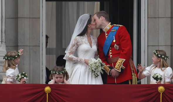The young royal was a bridesmaid at Prince William and Kate's wedding Photo (C) GETTY
