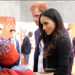 Today Prince Harry and Ms. Markle learn how @THTorguk are working in Nottingham to provide support to people living with HIV and AIDS. Photo C KENSINGTON PALACE TWITTER