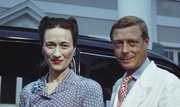 Wallis Simpson and Edward Photo (C) GETTY
