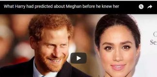 What Harry had predicted about Meghan before he knew he