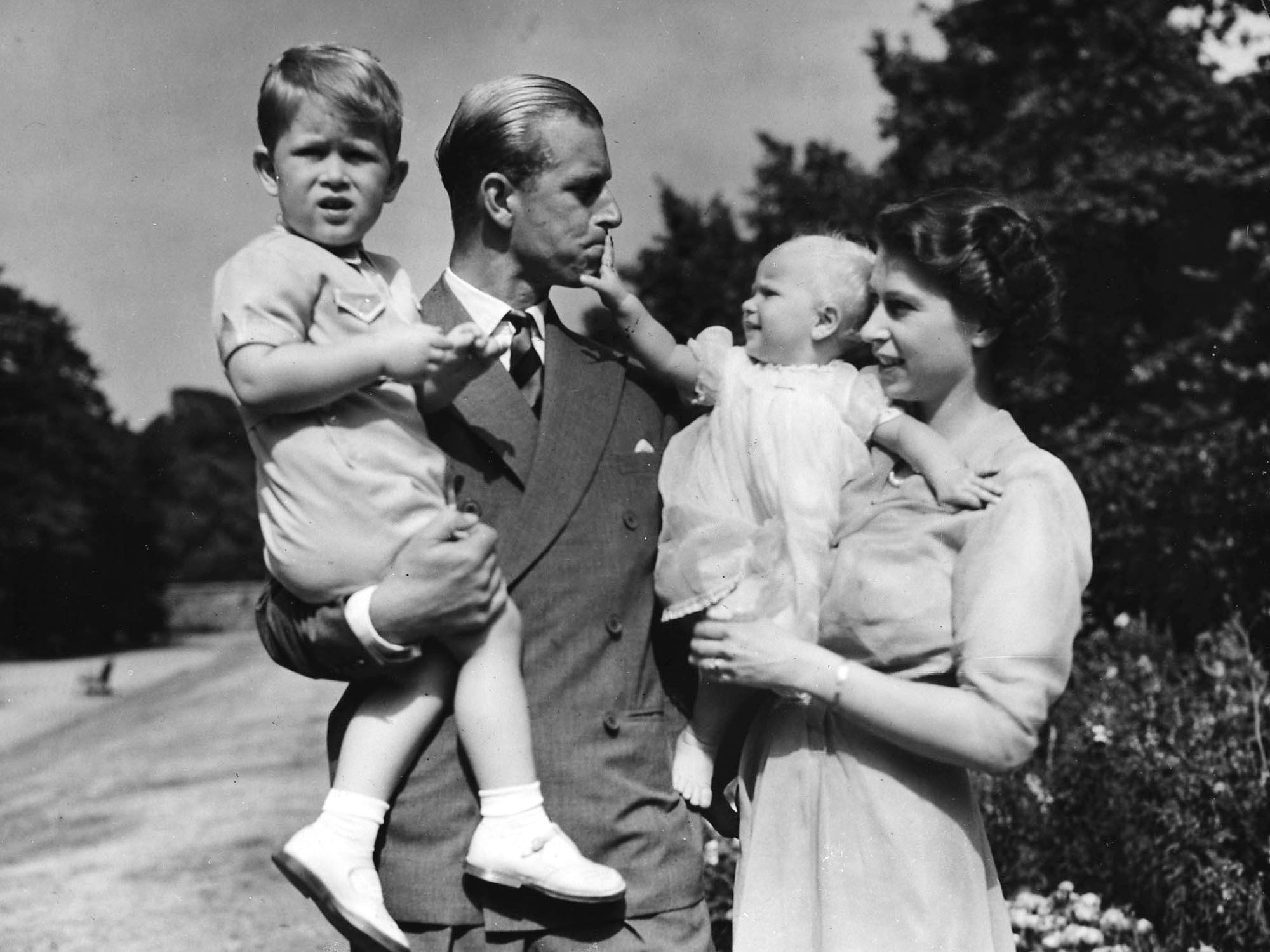 prince philip queen family